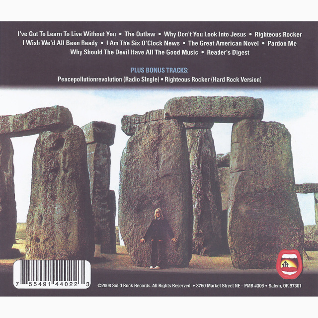 ONLY VISITING THIS PLANET (The Trilogy part 1) - CD
